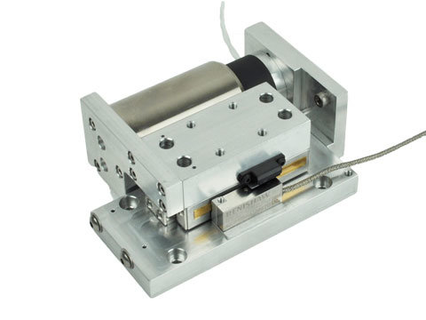 Voice Coil Positioning Stage,a linear motor,product,VCS20-020-CR-01-SV