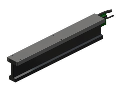 Brushless Linear Motor,a linear motor,product,BLDM-C08