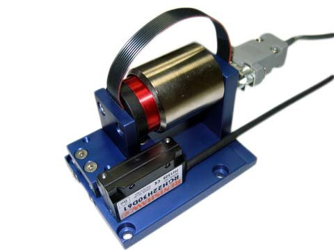 Voice Coil Positioning Stage,a linear motor,product,VCS03-050-CR-001-C