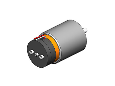 Non-Comm DC Voice Coil Linear Actuator ,a linear motor,product,NCC05-18-060-2PBS