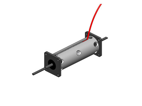 Moving Magnet Non-Comm DC Voice Coil Linear Actuator,a linear motor,product,NCM05-10-005-2JB