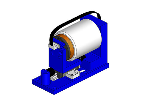Voice Coil Positioning Stage,a linear motor,product,VCS10-350-LB-01-MC