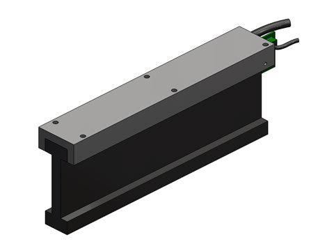 Brushless Linear Motor,a linear motor,product,BLDM-D06