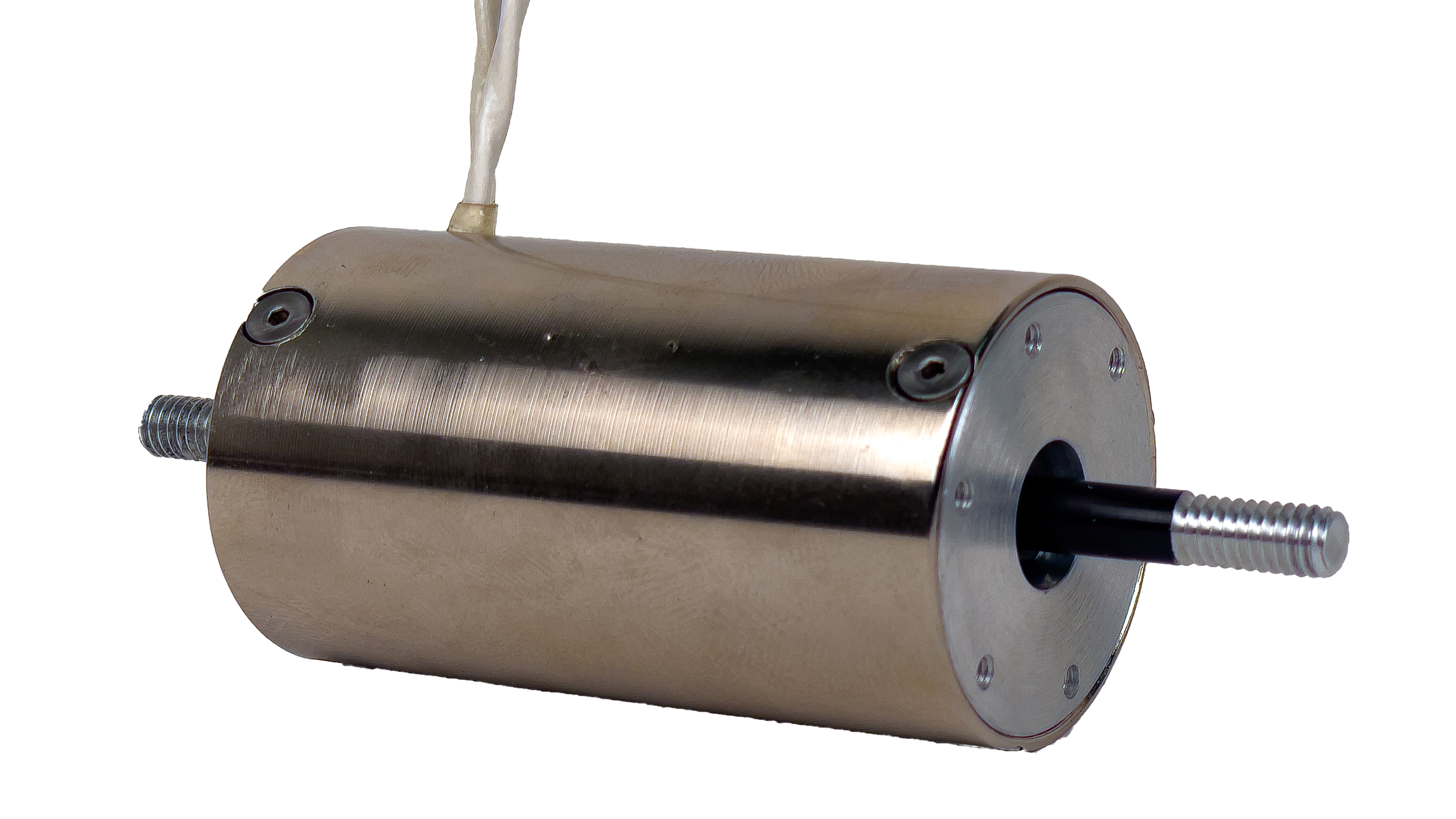 Vacuum Compatible Voice Coil Actuator with Integrated Thermal Sensor,a linear motor,product,NCM06-16-037-2SB3TV